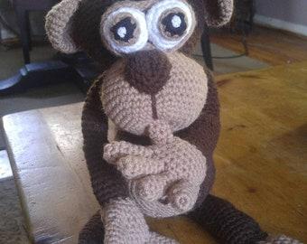 Amigurumi Brown Monkey