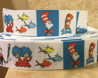 5 YDS Funny Hat Collage Ribbon