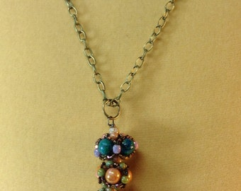 Victorian Beaded Bead Necklace