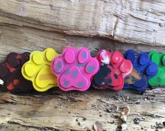 Paw Patrol FAVOR Crayons // Crayon Party Favor // Crayon Goodie Bag // Paw Patrol Decoration // Personalized Party Favor // Paw Patrol Favor