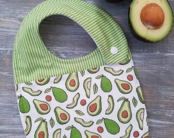 NEW item: Infant Drool Bib- Avocados