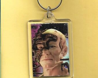 Star Trek: The Next Generation Locutus Plastic Keychain