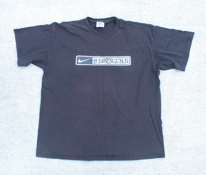 Vintage 90s distressed nike running swoosh logo oversize zoom buycottarizona