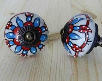 Round Ceramic Cabinet Knobs