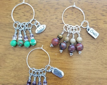 Stitch Markers to express yourself.