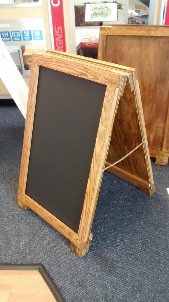 Sandwich board 24 x 36 Wooden A-Frame Sign Holder