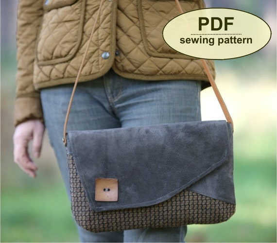 New: Sewing pattern to make The Blickling Bag - PDF pattern INSTANT DOWNLOAD