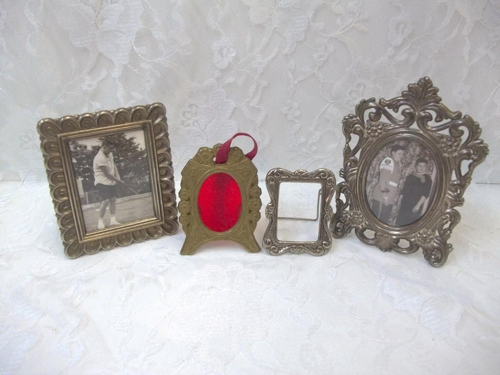 Miniature Frame Collection Very Small Metal Photo Frames Picture ...