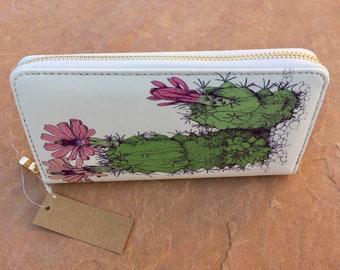 Cute . Cactus . Purse . Wallet