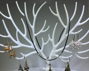 Jewelry Set Snowy Christmas Tree