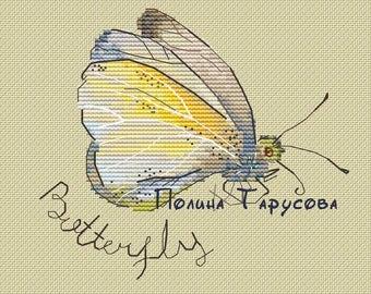 Butterfly, Hobby, crossstitch, DMC, Handmade, Pattern