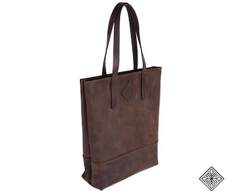 Leather Large Woman Bag 021, Tote Bag, Genuine leather, Vintage leather bag, Soft leather bag, Vintage handmade bag, Leather tote