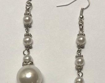 Earrings. Dangle Earrings. Drop Earrings. Bohemian Earrings. Boho Earrings. Bead Earrings. Beaded Earrings. Beaded Jewelry. Bohemian Jewelry