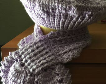 Women Hat with scarf