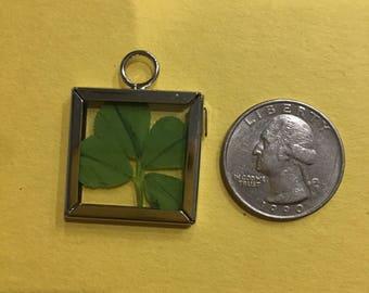 Four Leaf Clover Good Luck Charm