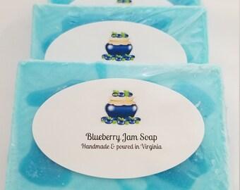 Blueberry Jam Soap