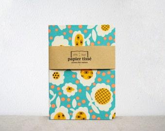 Book graphic flower pattern