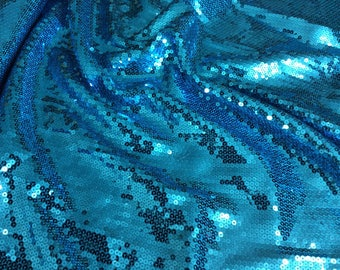 High quality sequin fabric