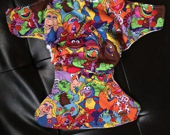 Muppets OS pocket diaper