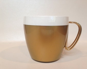 Vintage NFC Gold Thermal Mugs (5) - Free Shipping