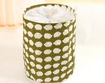 Laundry Hamper, Laundry Basket, Toy Storage, Nursery Fabric Basket, Storage Bin, Toy Basket, Nursery Storage