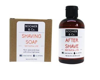 Bay Rum and Lime Shaving Kit