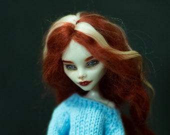 "Repaint doll OOAK Monster Hight ""Sabrina"""