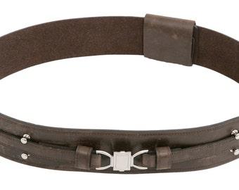 Star Wars Obi-Wan Kenobi Brown Replica Leather Jedi Belt