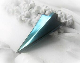 Turquoise Arrowhead Pendant Gemstone Hematite Arrowhead Item No. 2413 4866
