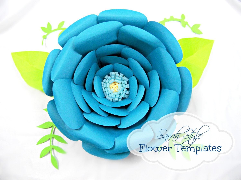 Paper Flower Pattern Printable Akbaeenw