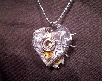 Gear pendant and necklace