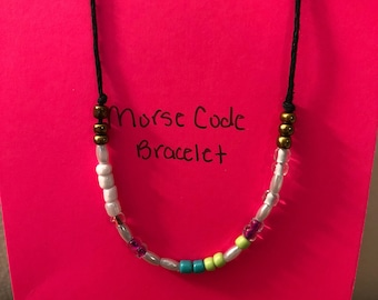 Morse Code-Beautiful Bracelet