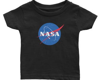 Officially Approved NASA Insignia Logo Infant Baby Boys Girls Space Tee
