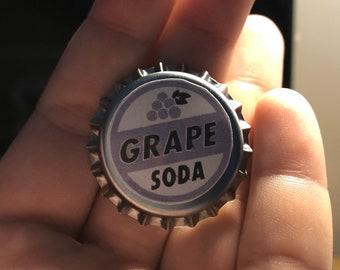 "Disney Pixar - Up - Wilderness Explorer - Ellie ""You're Part of The Club Now"" - Grape Soda Pin Badge"