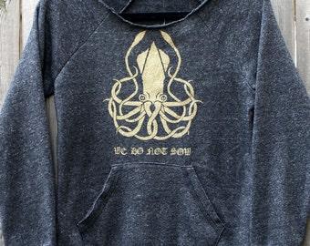 House Greyjoy -- We Do Not Sow -- GoT-inspired Ladies Eco-Fleece Sweatshirt