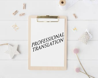 Professional Translation Services, Copywriting, Professional Texts Writing, Texts Creation, Content Marketing, Website Optimization, Custom