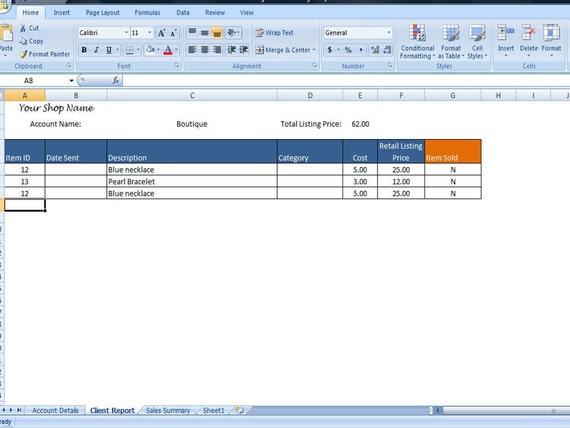 Einfache Sendungsverfolgung Arbeitsblatt berechnet Ihre