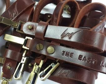 Engraved Keychain, Custom Keychain, Personalized Keychain, Belt Keyring, Keyfob, Mens Keychain, Leather Gift, Leather Gift, Bestman Gift