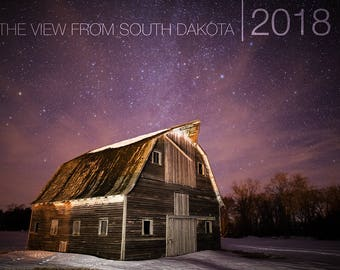 View from South Dakota 2018 Wall Calendar