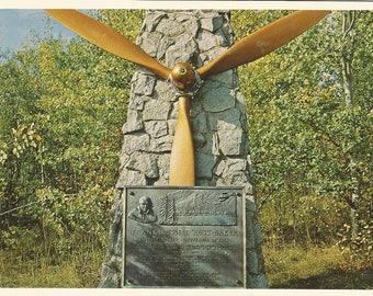 Vintage 1980s Postcard Fort St James British Columbia BC Canada Northern Interior Russ Baker Memorial Photochrome Postally Unused