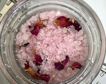 Rosehip Seed Oil Bath Salts