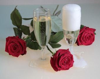 CHAMPAGNE ROSE Perfume Oil - Natural Perfume - 10 ml Perfume Oil Roll On - Natural Fragrance - Travel Perfume - Vegan Perfume - Gift for Mom