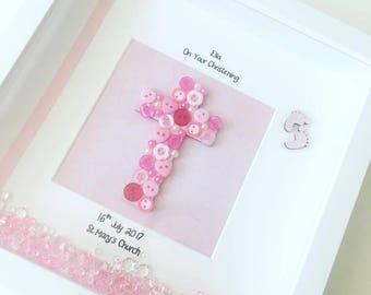Christening Frame, Christenings, Boy, Girl, christening present, christening gift, keepsake frame, personalised, baby gift, baby shower