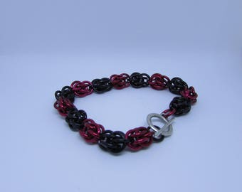 Sweet Pea Chainmaille Bracelet