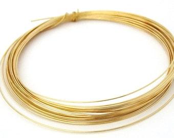 Dead Soft 20GA Brass Crafters and Jewelry Makers Wire 25 Feet