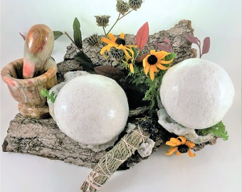 Muscle Bath Bomb - Bath Bomb, Hand Crafted, Small Batches, Bath Fizzy, Coconut Oil, LARGE, X-LARGE