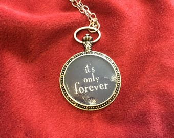 It's Only Forever David Bowie necklace