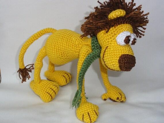 Amigurumi Leon : Amigurumi crochet pattern leon the lion english version