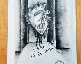 I Ask You To Be Mine •• Digital Artwork