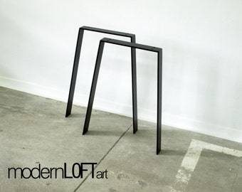Table Legs Table runner table steel industrial Loft Table
